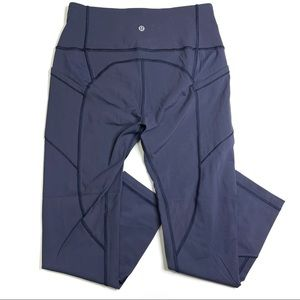 Lululemon All The Right Places Crop II Cadet Blue